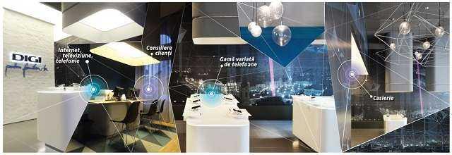 magazin Digi  RCS & RDS deschide primul magazin sub brandul Digi în București