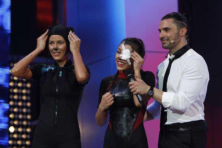 ruby splash Finala show ului Splash! Vedete la apa, lider de audienta pe toate segmentele de public!