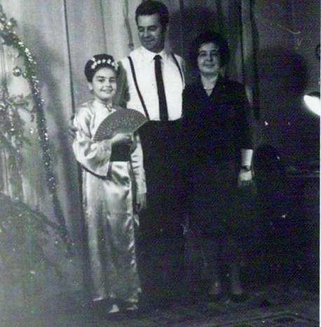 Irina Margareta Nistor copilarie