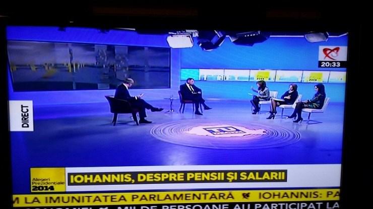 Klaus Iohannis Realitatea TV (1)