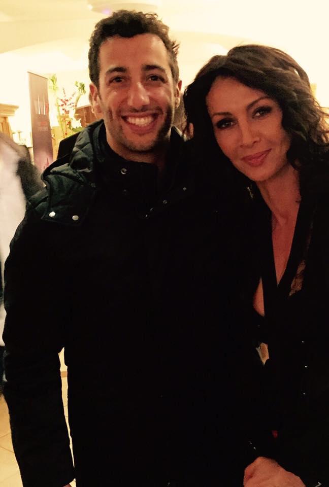 Mihaela si Daniel Ricciardo