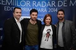ROMANIA, TE IUBESC! GALA PREMIILOR RADAR DE MEDIA 2014