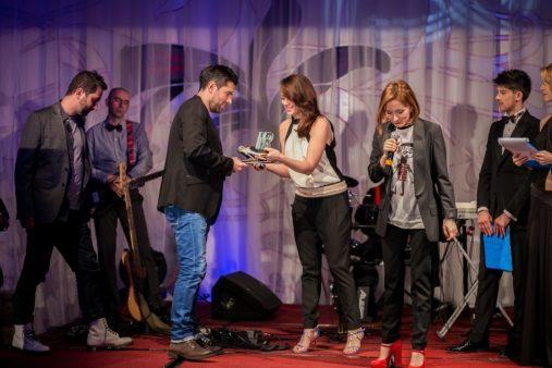 GALA PREMIILOR RADAR DE MEDIA 2014 (47) ALEX DIMA, PAULA HERLO