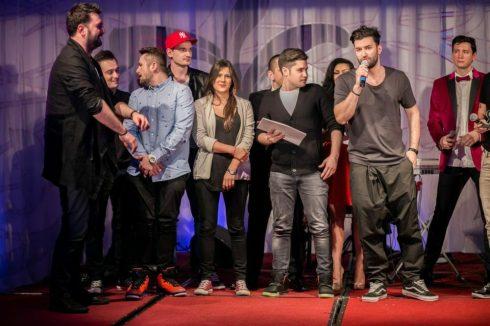 Smiley si echipa Hahaha Productione GALA PREMIILOR RADAR DE MEDIA 2014