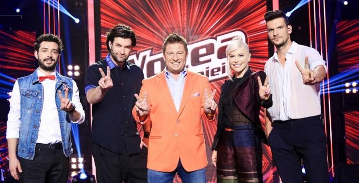 ECHIPA VOCEA ROMANIEI PRO TV