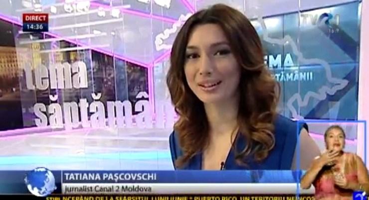 jurnalist in romania TVR CLUJ - captura TVR 1