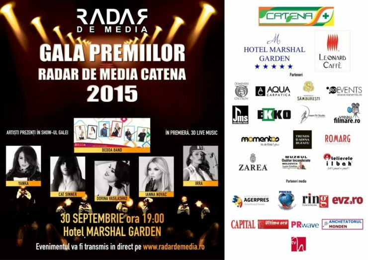GALA PREMIILOR RADAR DE MEDIA CATENA 2015
