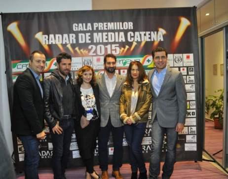 ROMANIA TE IUBESC - PRO TV PREMIILE RADAR DE MEDIA 2015
