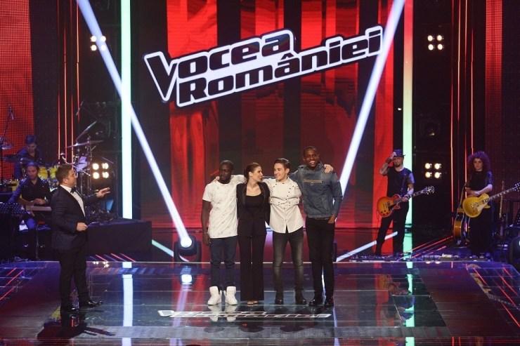 finalistii Vocea Romaniei si Pavel Bartos