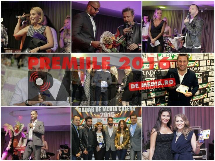 PREMIILE RADAR DE MEDIA 2016 - Colaj foto