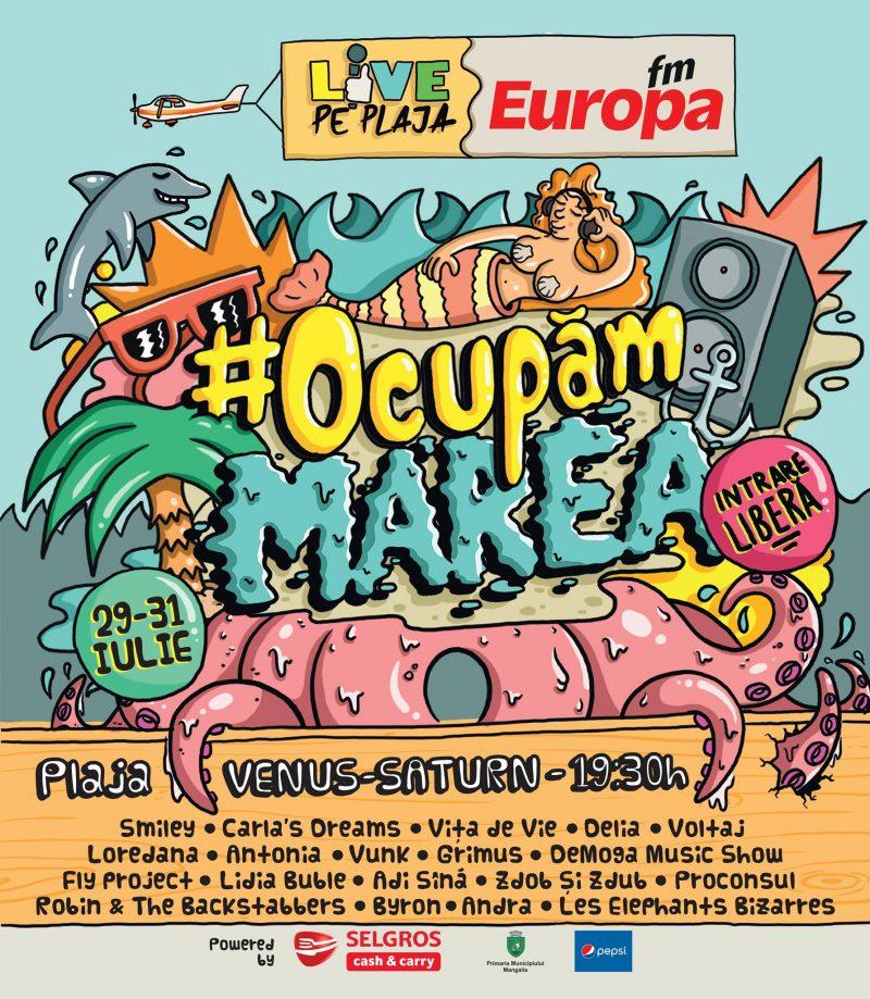europa fm live pe plaja 2016