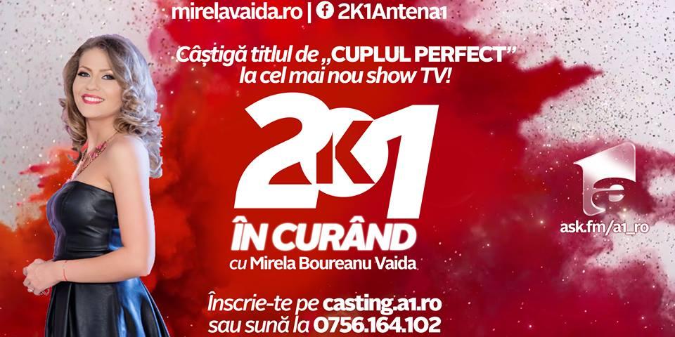 Au început înscrierile pentru noua emisiune prezentată de Mirela Vaida, 2k1, la Antena 1. Iată cum va arăta formatul show-ului!