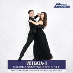 Lili Sandu si Iulian Turcanu UITE CINE DANSEAZA PRO TV