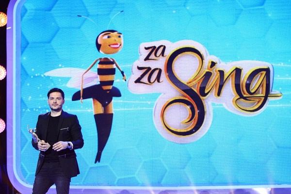 """FOTO Au început filmările pentru show-ul """"Zaza Sing"""", care va debuta săptămâna viitoare la Antena 1"""