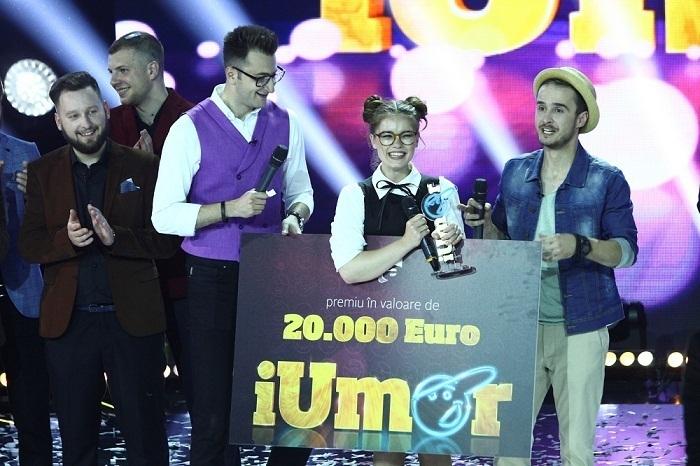 """Doina Teodoru este câștigătoarea celui de al treilea sezon """"iUmor"""". Iata numarul care i-a adus marele premiu!"""
