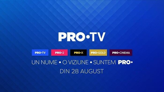 Un nou slogan şi o nouă identitate vizuală: 200 de oameni PRO au filmat timp de 32 ore și au folosit 150 metri pătrați de chroma pentru promo-ul de rebranding