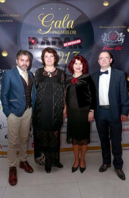 DANIELA FLOROIU, MARIUS VORNICESCU - PREMIILE RADAR DE MEDIA 2017