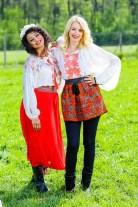 Diana Dumitrescu si Majda Aboulumosha - Ferma vedetelor