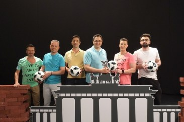 Echipa de baieti moment Germania