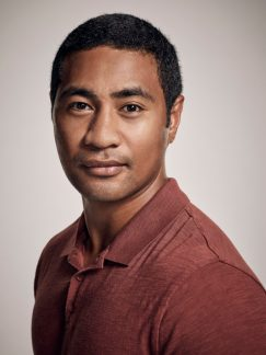 Beulah Koale of the CBS series HAWAII FIVE-0, scheduled to air on the CBS Television Network. Photo: Justin Stephens/CBS ©2017 CBS Broadcasting Inc. All Rights Reserved.