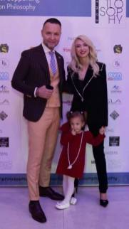 Nicusor Stan, Andreea Balan si fiica ei