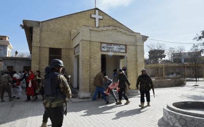 Ataque terrorista em igreja deixa nove mortos e 30 feridos no Paquistão