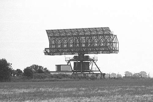 Type 80 S-Band Search Radar at RAF Sopley (Photo: via John Levesley)