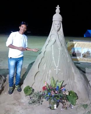 De areia