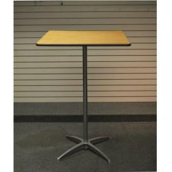 30-Square-Bar-Table