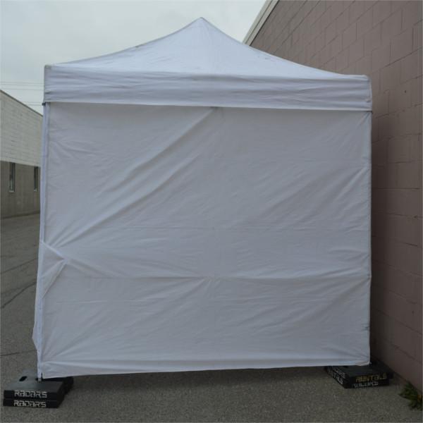 Pop-Up Tent Wall (Solid) & Tent Weights - Radars Rentals