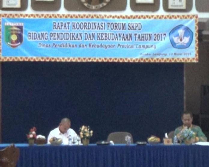 Pemprov Lampung Melalui Disdik Fokus Tingkatkan Ipm