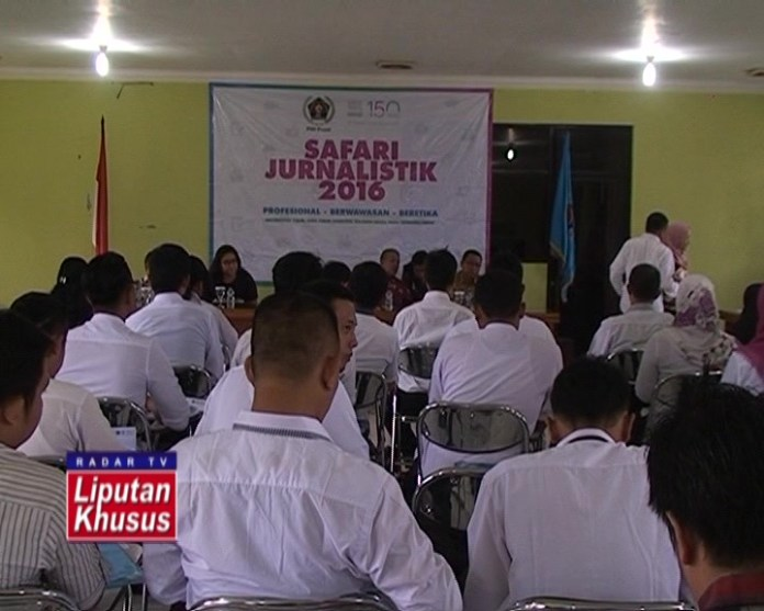 46 Wartawan Lampung Ikut Safari Jurnalistik dan UKW 2016