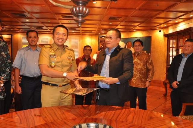 Gubernur Lampung Dan Sampoerna Foundation Teken MOU Donasi Siswa Berprestasi