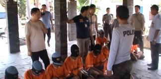 Polresta Bandar Lampung Amankan 36 Tersangka