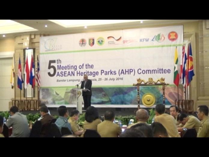 Plt Sekprov Resmi Launcing Way Kambas Sebagai Asean Heritage Park