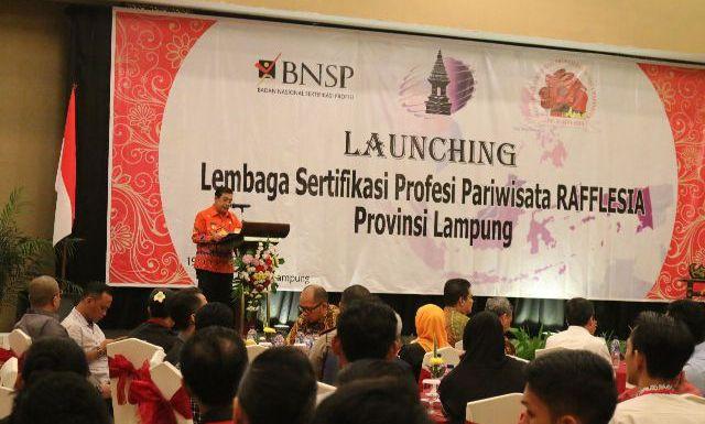 Pemprov Lampung Resmikan Lembaga Untuk Meningkatkan Kompetensi