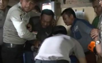 Tertangkap Dalam Simulasi Polres Lampung Timur