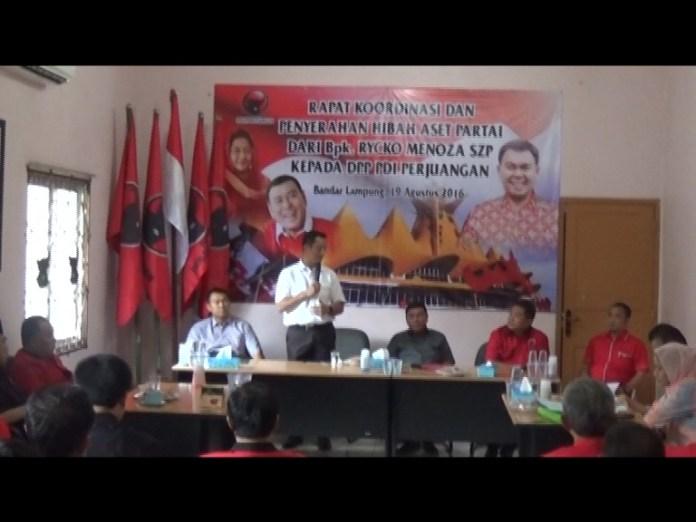 Kader PDI P Siap Bersatu Menangkan Parosil - Mad Hasnurin