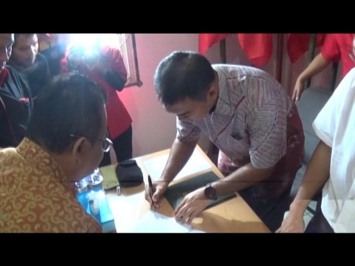 Rycko Hibahkan Tanah dan Bangunan Untuk Aset PDI Perjuangan