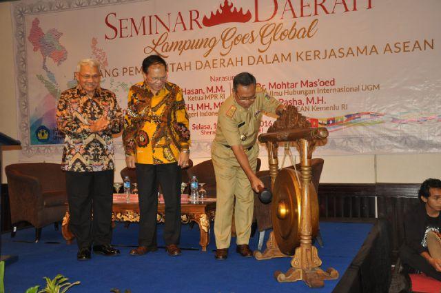 Lampung Bisa Lebih Maju Melalui Program Kerjasama ASEAN