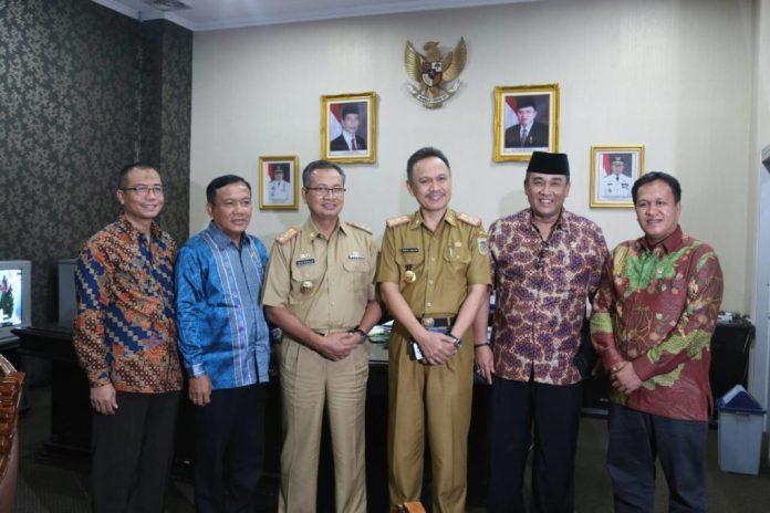 Pemerintah Provinsi Lampung menerima kunjungan kerja Anggota DPD RI