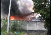 Kebakaran Hebat Diduga Akibat Konsleting Listrik