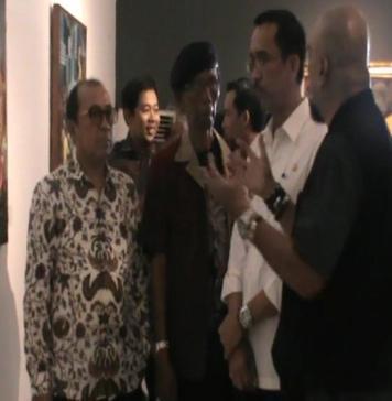 Puluhan Hasil Karya Dipamerkan Dalam Galeri Nasional Indonesia