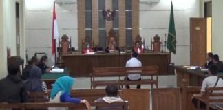 Sidang Pembunuhan Anggota DPRD Bandar Lampung