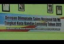 Ratusan Siswa Antusias Ikuti OSN Tingkat Kota Bandar Lampung