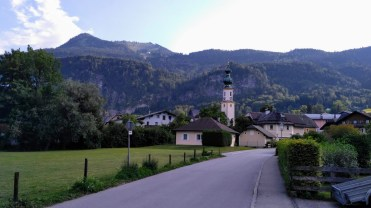Zwolferhorn from St Gilgen