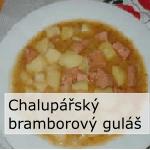 Chalupářský bramborový guláš