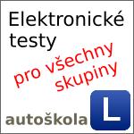 Elektronické testy pro autoškolu [pro všechny skupiny]