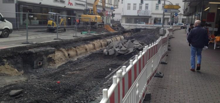 Neugestaltung Ruhrstraße, Brückenplatz, Clemens-August-Straße und Rumbecker Straße in Arnsberg