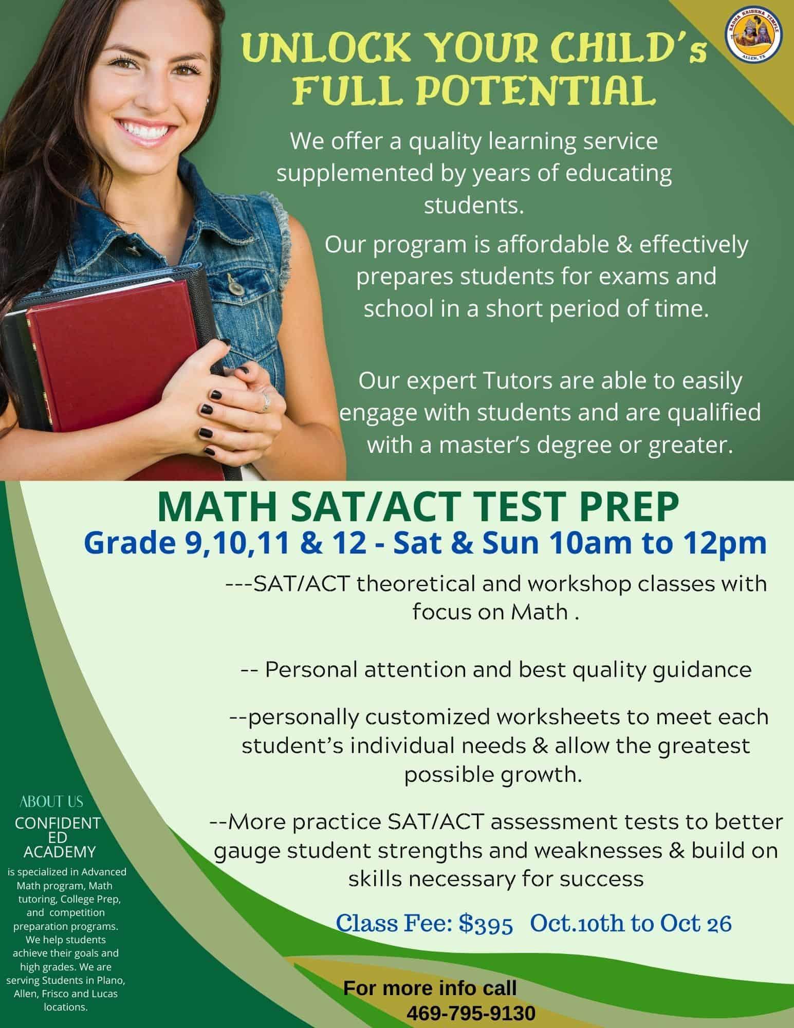 Sat Act Math Test Prep